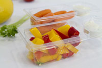 Custom Polyethylene Terephthalate (PETE) Food Packaging Containers