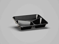 8.94 x 6.97 x 1.57 Inch (in) Size Rectangle Polyethylene Terephthalate (PETE) Food Packaging Container (500446)