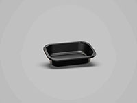 6.30 x 4.06 x 1.42 Inch (in) Size Rectangle Polyethylene Terephthalate (PETE) Food Packaging Container (500459)